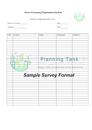 Professional Survey Template Sample Employee Satisfaction Survey Template Metabots Co