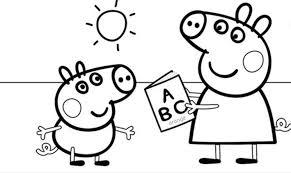 Small Picture Imgenes de Peppa Pig Para Colorear Dibujos De
