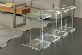 ... Trendy Acrylic Side Tables 71 Clear Acrylic Coffee Table For Sale Acrylic  Coffee Table Furnishing: