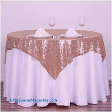 54 x 54 whole premium gold sequin square tablecloth overlay