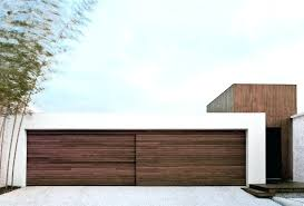 inspirational examples of modern garage doors a sliding wood door made from the contemporary glass uk