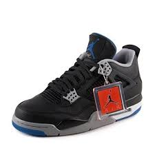 Jordan Retro 4 Alternate Motorsports <b>Black</b>/Game <b>Royal</b>-<b>Matte</b> ...