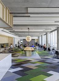 Office room design gallery Elegant Some Nice Color Blocking And An Interesting Mix Of eames And wegner Chairs Cisco Offices Studio Oa Collaboration Spaces Office Interiors Office Langs Kitchen Bath Some Nice Color Blocking And An Interesting Mix Of eames And