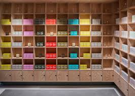 Shelf Designs For Shops Jonathan Tuckey Design Has Completed Two Shops For Skincare