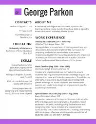 Template Resume Templates For Educators Top Rated Teacher Be Top