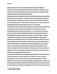compare and contrast two major theories of social inequality can page 1 zoom in