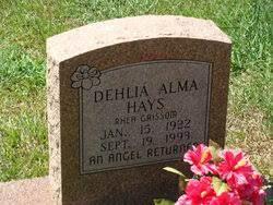 Dehlia Alma Hays (1922-1993) - Find A Grave Memorial