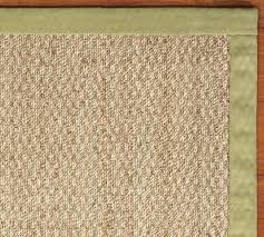 color bound seagrass rug sprout pottery barn fibreworks custom