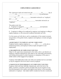 Job Contract Template Best Photos Of Job Contract Sample Temporary Employment Contract 13