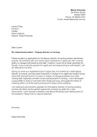 Best Ideas Of Cover Letter Sample Nurse Training In Letter