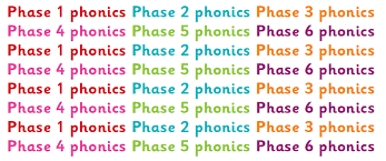 phonics phases explained for pas