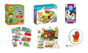 Новое поступление: настольные <b>игры для малышей</b> от <b>Vladi</b> Toys