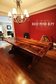 wood trestle tables finished epoxy reclaimed wood sawbuck custom mennonite built from reclaimed threshing
