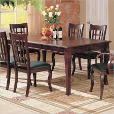 oblong dining table coaster furniture newhouse rectangular dining table in cherry