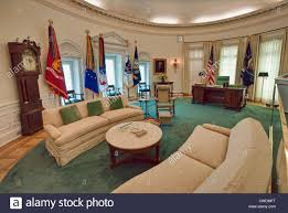 the white house oval office. The Oval Office In White House Replica At Lyndon Baines Johnson Library And Museum (LBJ Library) Austin, Texas, USA R