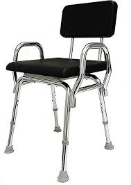 eagle health supplies padded shower chair with back and arms