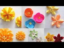 Paper Art Flower Top 10 Diy Paper Flowers Of 2017 Art All The Way Youtube