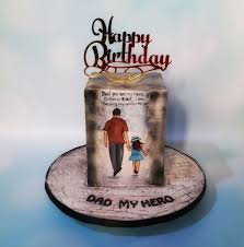 Dad My Hero Cake By Urvi Zaveri Cakesdecor