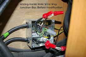 120 ac wiring irv2 forums you notice in the jb on the slide that the wire nuts don t cover the wires looks like assemblers don t know much about 120 volt wiring codes