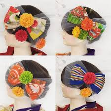 小学生の卒業式袴に似合う髪飾り決定版大正ロマン髪飾り
