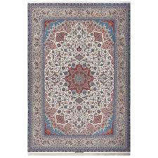 fine vintage isfahan persian rug for