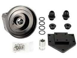 lc engineering made in the usa performance parts for toyota trucks inverted remote oil filter mount