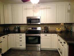 black brick style kitchen tile ideas with white cabinets tile backsplash antique white cabinets black brick kitchen backsplash white cabinets