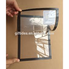 magnetic window sign holder magnetic window sign pocketdouble sidedwindow or wall sign