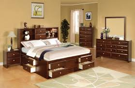 Bookcase and Storage Bedroom Furniture Set 137