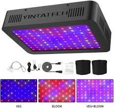 Yintatech <b>1000W LED Grow</b> Light, Growing Lamp Full Spectrum for ...