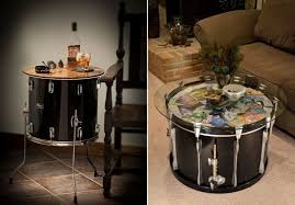 Music Drum inspired table
