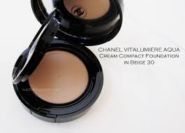 generally speaking those of asian descent will require a yellow based foundation the beige color range of the chanel vitalumiere aqua cream pact is now