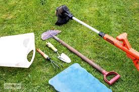 how to edge flowerbeds like a pro via