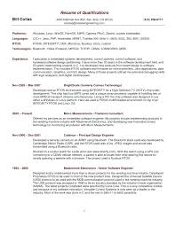 Resume Example Writing Resume Skills And Abilities Examples