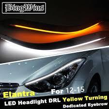 2012 Hyundai Elantra Running Light Bulb Bingwins Car Headlight Led Eyebrow Daytime Running Light Drl