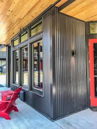 home inspiration ideas with excellent corrugated steel siding