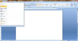 Open Close Cut Copy Paste Ms Word 2007 Free Basic Computer Notes