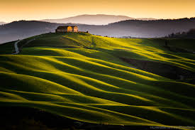 Valley Of Lights In Italy Orcia Valley Photos Italy Travel Photography Gallery