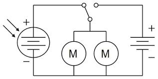 build a solar powered bristlebot circuit diagram for a solar powered bristlebot