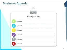 Business Plan New Pencil Diagram Agenda Template Presentation