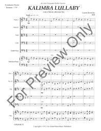 Content sharing of kalimba tabs, submit your tabs now. Kalimba Lullaby By Lauren Bernofsky J W Pepper Sheet Music