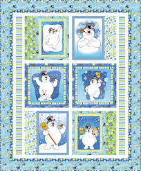 FREE PATTERN: Frosty the Snowman / Silly Snowman Quilt – Ivory Spring & High Res_4d redo_44 x 53.5 Adamdwight.com