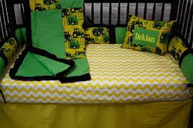 beauty john deere crib bedding
