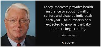 today care provides health insurance to about 40 million seniors and disabled individuals each year the number is only expected to grow as the baby