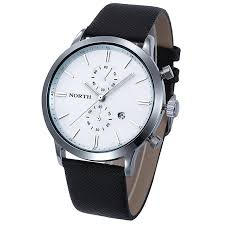 high quality accurate watches promotion shop for high quality mance 1pc quality fashion men casual waterproof date watch leather military business watch accurate time dress watches