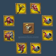Lords Mobile Monster Hunt Hero Chart Best Monster Hunting Gear In Lords Mobile