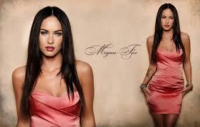Wallpaper Look Megan Fox Figure Dress Actress Brunette Tattoo