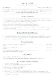 Professional Resume Formats Impressive Achievement Resume Examples Market Summary Example Best Of Fancy