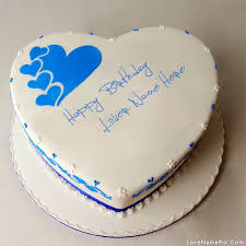 Happy Birthday Cake With Name Editor Online