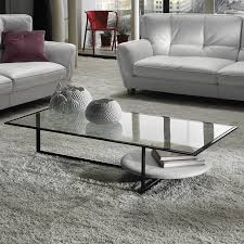 image of italian contemporary glass top coffee tables design